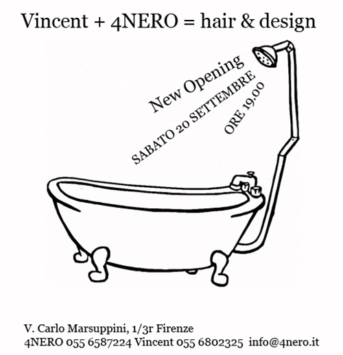 Vincent + 4NERO = hair & design